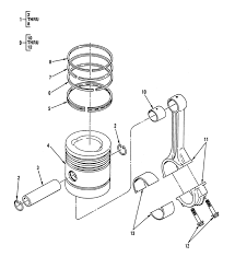 0007 00 2 figure 6 pistons connecting rods internal pression connecting rod bearing pistons