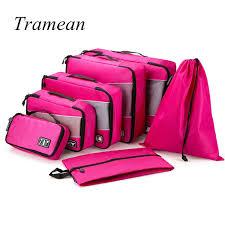 2018 <b>Travel Bag Men Women Male Female Packing Cubes</b> ...