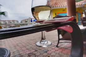 wine glass cup holder for an outdoor chair perfect gift the wine hook