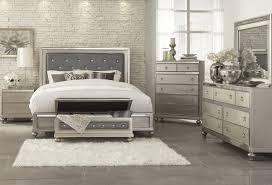 Aurora Champagne 5 PC Queen Bedroom   Bedroom Sets   King bedroom ...