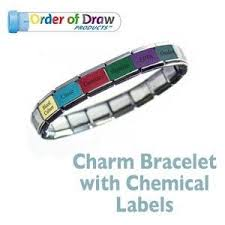 Order Of Draw Phlebotomy Chart 2015 Remember The Order Of Draw With Badges Bracelets And Other
