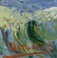 lonequixote detail of vincent van gogh s signature seascape near les saintes