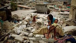 Erdbeben im Süden Haitis ...
