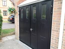 side hinged garage doorsCarteck Side Hinged Insulated Camberley  Doormatic Garage Doors