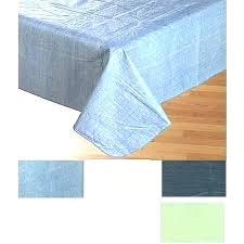 fitted card table covers round tablecloth vinyl white solid color flannel back tablecloths plastic fitt