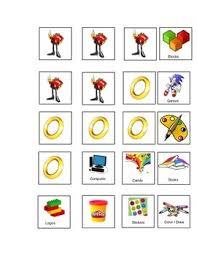 Sonic Themed Token Board Token Chart Behavior Management