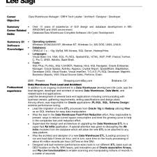 resume - Sample Warehouse Resume