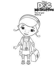 Printable Doc Mcstuffins Coloring Pages For Kids Coloringstar
