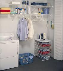 shelf rod laundry