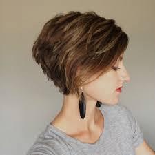 Frisuren Frauen Frisuren Kurzer Bob Braun Die Besten 25 Pixie Cut