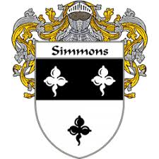 simmons family crest. simmons crest ireland simmons family crest s