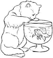 Disegni Da Colorare Di Cani E Gatti Az Colorare