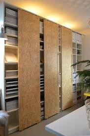 how to sliding doors for ikea billy bookcases apartment therapy