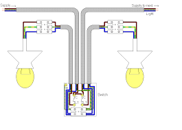 how to wire 2 separate single pole switches lights throughout gang 2 Pole Light Switch Wiring Diagram wiring diagram 1 gang switch wiring free download images wiring inside 2 light switch 2 pole light switch wiring diagram