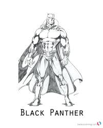 Marvel thanos coloring pages fresh black panther coloring pages