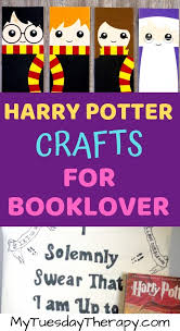 21 harry potter crafts and activities