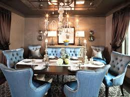 nailhead dining chairs dining room. Nailhead Trim Velvet Tufted Dining Chairs Intended For Furniture Luxury Room Design Using Blue Chair With E