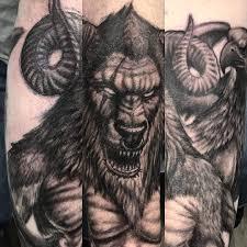 татуировка минотавр значение эскизы фото и видео Infotattoo