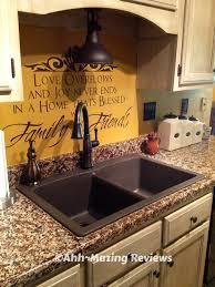 Blanco Granite Kitchen Sinks Guest Post 2 Ladies A Hammer Reviews Blanco Silgranitar Ii
