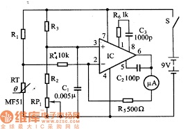 temperature measurement using thermistor circuit diagram thermistor wiring diagram wiring diagram and hernes on temperature measurement using thermistor circuit diagram