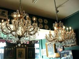 old chandeliers for uk antique crystal chandeliers vintage chandelier table lamps old made in for