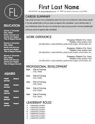 Modern Resume Templates Free Word Free Free Cv Template Office Plks Tk