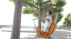 LA SIESTA Tree Rope for hammock chairs - YouTube