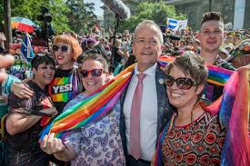 Image result for pictures of celebration in parliament passing of same sex marriage