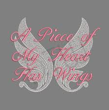 Angel Wings Applique Design Angel Wings Sympathy Memory Machine Embroidery Design For