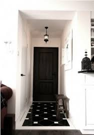 decorate narrow entryway hallway entrance. Black And White Tile Floor | Foyer Flooring: \u0026 Mosaic Tiles Decorate Narrow Entryway Hallway Entrance T