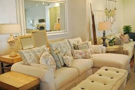 quatrine custom furniture. Quatrine Custom Furniture · \u0026 Accessories. Cream Chaise Sectional  Farmhouse-living-room Quatrine Custom Furniture C