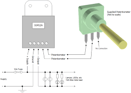 wiring diagram for potentiometer the wiring diagram 120vac lighting potentiometer wiring connection diagram 120vac wiring diagram