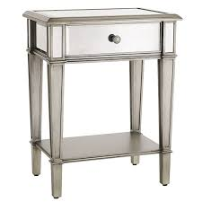 Nightstand Inch Wide Nightstand Mirrored Tar Cheap Drawer