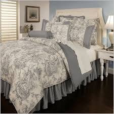 black and white toile bedding sets