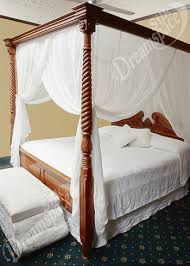 Silk Mosquito Net Bed Canopy