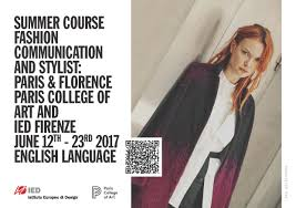 Fashion Designing Course In Paris News Paris College Of Art And Ied Spend Summer 2017 In