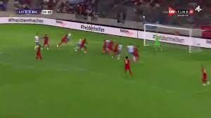 محمد صلاح يصنع هدفا بالكعب في تعادل ليفربول مع هيرتا برلين 2-2 بالشوط الأول  – يوم نيوز