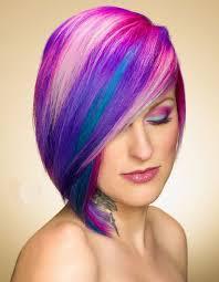 Kreativní Barvení Vlasů 59 Fotografií Barvení Vlasů Středně