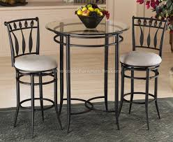 beautiful round bistro table set dining room impressive round bistro table set tall and chairs