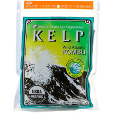 Maine Coast Sea Vegetables, Kelp, <b>Wild Atlantic</b> Kombu, 2 oz (56 g ...