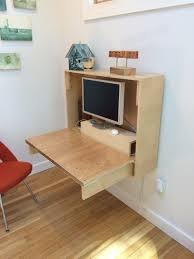 Fold down wall desk Space Saving They Give You Nice Clean Lines And Are Really Strong This Was Important Because In Researching Folddown Desks Crafted Fairly How To Foldup Wall Desk Crafted Fairly