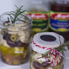 gift in a jar appetizer recipe marinated olive and cheese recipe close to home