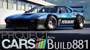 Project CARS Build 881 [HD] [GER] BMW M1 Procar @ Florence GP ...