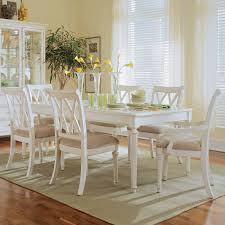 room traditional tables american american drew camden white  pc counter height table set dining table s