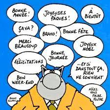 Le Chat , Geluck | Bonne fête, Humour noir, Humour