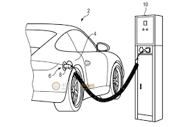 Plug in hybrid version of the porsche 911 revealed in patent drawing
