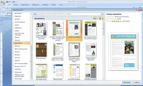 Microsoft Office Word Newsletter Templates Creating Word Templates In Indesign On With Styles Macros