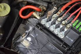 charred burnt battery fuse box org forums