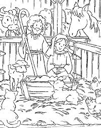 Christmas Bible Coloring Pages Best Toys Collection