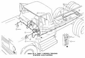 fordcar wiring diagram page 18 3 speed axle wiring of 1964 ford b f and t series trucks